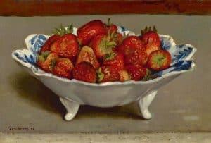 Gerard Röling | Aardbeien in een schaal