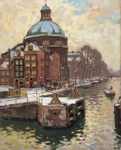 Ben Viegers   De Koepelkerk aan het Singel te Amsterdam