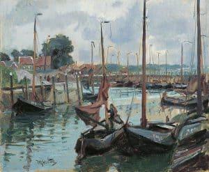 Hendrik Jan Wolter | De haven van Tholen