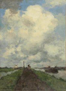 Hendrik Johannes Weissenbruch | De witte wolk