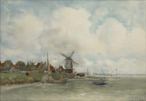Fredericus Jacobus van Rossum du Chattel | Riviergezicht