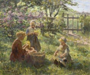 Evert Pieters | Bloemen plukken