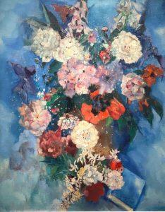 Germ de Jong | Kleurrijk bloemstilleven