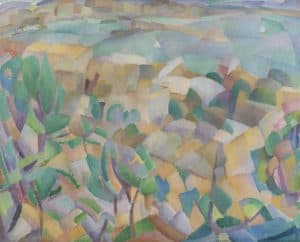 Leo Gestel   View of the bay of Mallorca