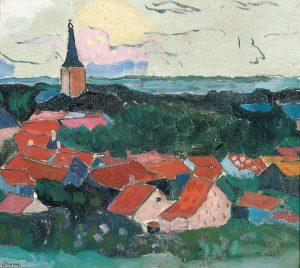 Charley Toorop   Gezicht op Domburg