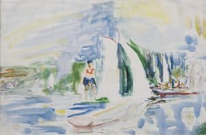 Job Hansen | Zeilwedstrijd op het Paterswoldse meer