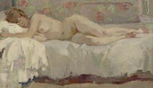 Hessel de Boer | A lying nude