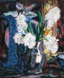 Jan Sluijters | Hyacinten in een vaas