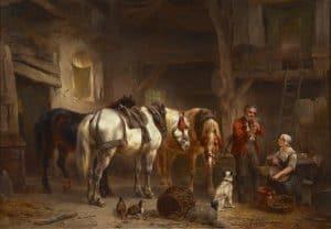 Wouterus Verschuur | In de stal