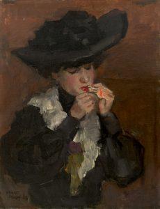 Isaac Israëls   Vrouw met sigaret