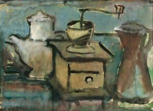Jeanne Bieruma | Still life with coffee grinder