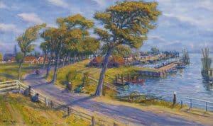 Johan Dijkstra | Inland harbour of Zoutkamp