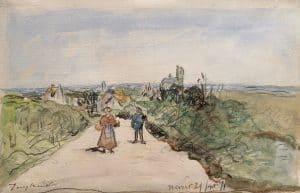 Johan Barthold Jongkind | Vue de Nevers