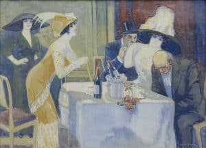 Anton Kristians | In the restaurant