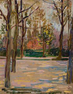 Jan Sluijters | Laan met bomen