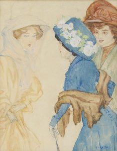 Leo Gestel   Three women