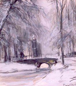 Louis Apol | Winterlandschap