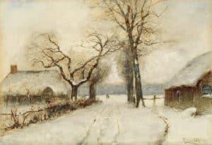 Louis Apol | Winterse landweg