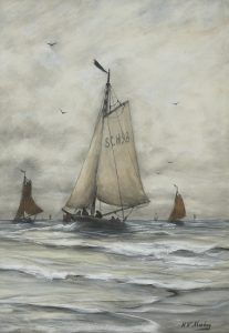 Hendrik Willem Mesdag | De Scheveningen 98