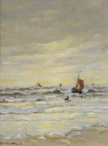 Gerhard Arij Ludwig 'Morgenstjerne' Munthe | Bomschuiten op zee