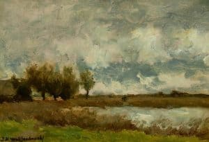 Hendrik Johannes Weissenbruch | Polderlandschap
