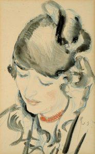 Jan Sluijters | Portret van een jonge vrouw