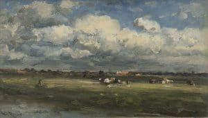 Willem Roelofs | Cows at the 'Trekvliet'