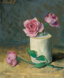 Marie van Regteren Altena | Roze roosjes