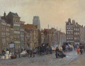 Gerbrand Frederik van Schagen | Het Haagsche Veer te Rotterdam