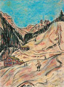 Jan Wiegers | Skiën in Davos