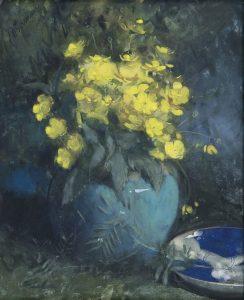Jan Voerman sr | Boterbloemen in een gemberpot