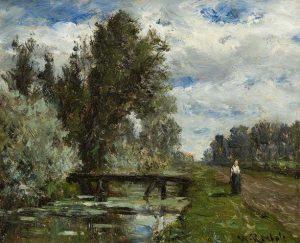 Willem Roelofs | Wandelen langs de waterkant