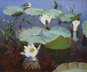 Dirk Smorenberg | Waterlelies in Loosdrechtse Plassen