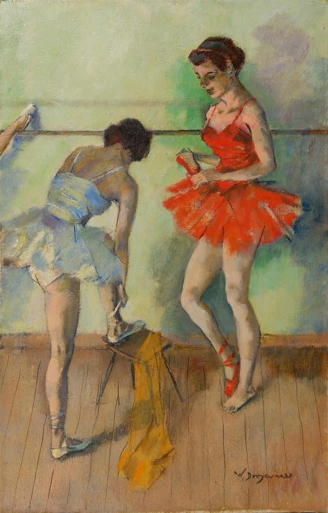 Willem Dooijewaard | Twee ballerina's