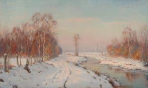 Johan Meijer | A winter landscape