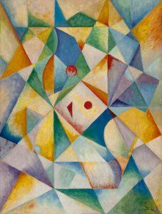 Wobbe Alkema   Abstracte compositie