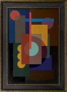 Wobbe Alkema   Compositie met zeven cirkels