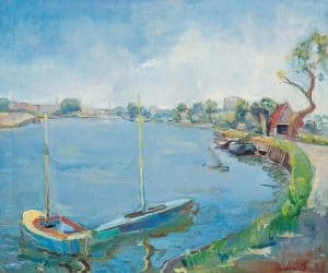 Elie Neuburger | Sailing boats