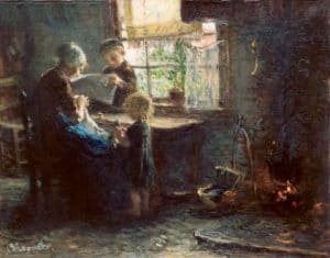 Bernardus Johannes Blommers | Een kijkje in de huiskamer
