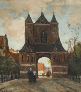 Théophile de Bock   Stadspoort te Haarlem