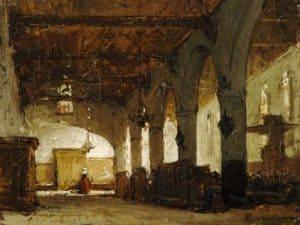 Johannes Bosboom | De Bakenesserkerk te Haarlem