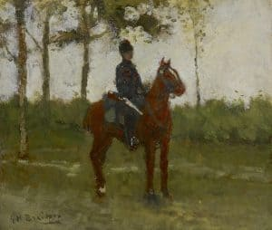 George Hendrik Breitner | A hussar