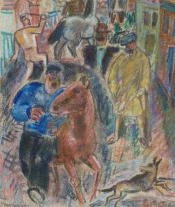 Leo Gestel   De paardenmarkt