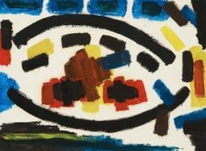 Willem Hussem | Compositie abstract