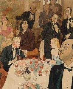 Leslie Illingworth | In het restaurant