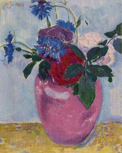 Jan Sluijters | A still life with flowers