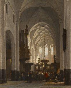 Johannes Bosboom | De Grote Kerk in Hattem