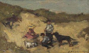 Johannes Evert Hendrik Akkeringa | Spelen in de duinen