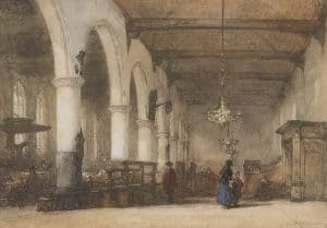 Johannes Bosboom | De Bakenesserkerk in Haarlem