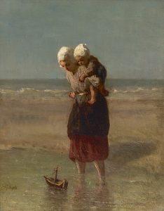 Jozef Israëls | Scheepje varen
